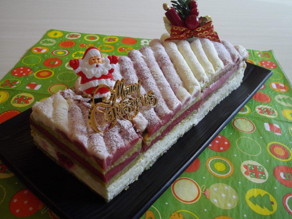 ピスタチオとフランボワーズのケーキ☆2012