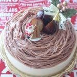 マロンとバニラのケーキ