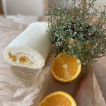 オレンジのホワイトロール